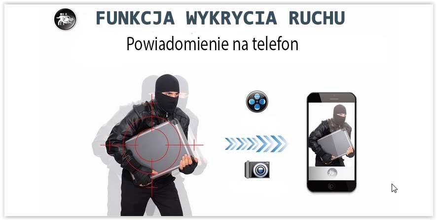 kamera z funkcją alarmu